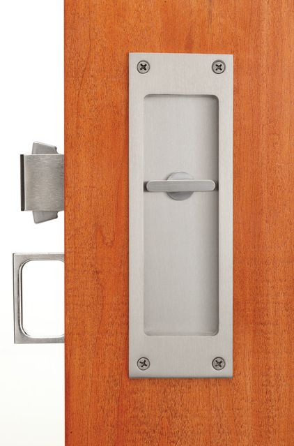 Privacy Accurate Lock Company Has Skillfully Solved The Problem Of Privacy And Pocket Doors With Its Mort Pocket Door Hardware Pocket Doors Barn Doors Sliding