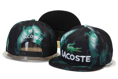 Lacoste Caps Snapback Hats Green 020  ed82a06dca3