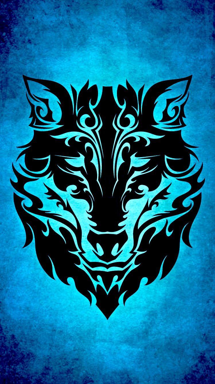 Pin By Emerasd Plous On Wallpapers Tribal Wolf Wolf Art Wolf Wallpaper