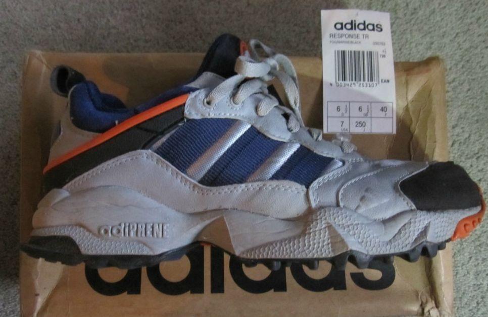 Adidas Response Trail. Release: 1996   Кроссовки, Настоящие