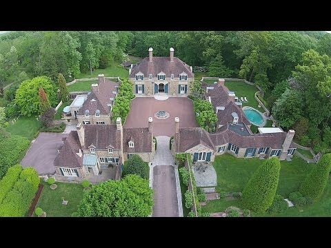 Legendary Estate Property In Gladwyne Pennsylvania Linden Hills Mansion Designs Mansions