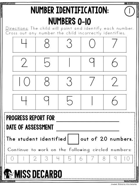 Free Math Assessment Sample Using Data to Drive Math Instruction - sample activity report