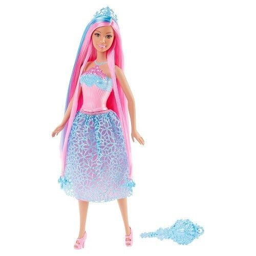 Barbie Endless Hair Kingdom Princess Doll -  Blue #Barbie