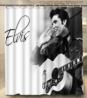 Elvis Presley Cat King Best Modern Classical Custom Shower Curtain