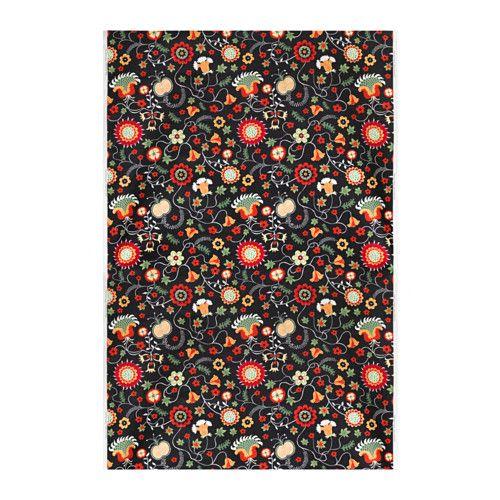 Sessel ikea schwarz  ROSENRIPS Meterware, schwarz, bunt | Fabrics, Ikea fabric and Ikea ...