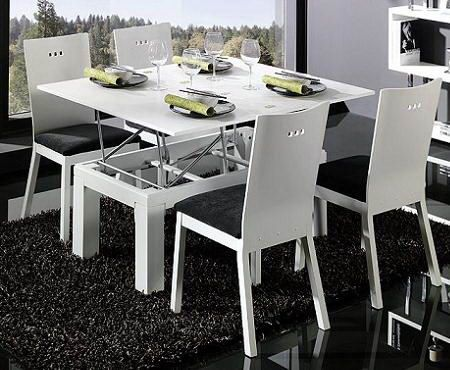 Clever Ideas For Small Room Dining Table Wishlist Pinterest - Clever space saving ideas for small room layouts