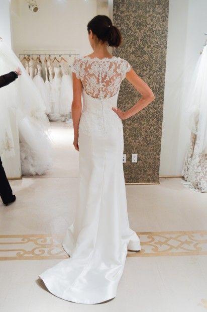 7c04ba88cc abito da sposa Reem Acra Spring 2015 foto lwdbridal.com