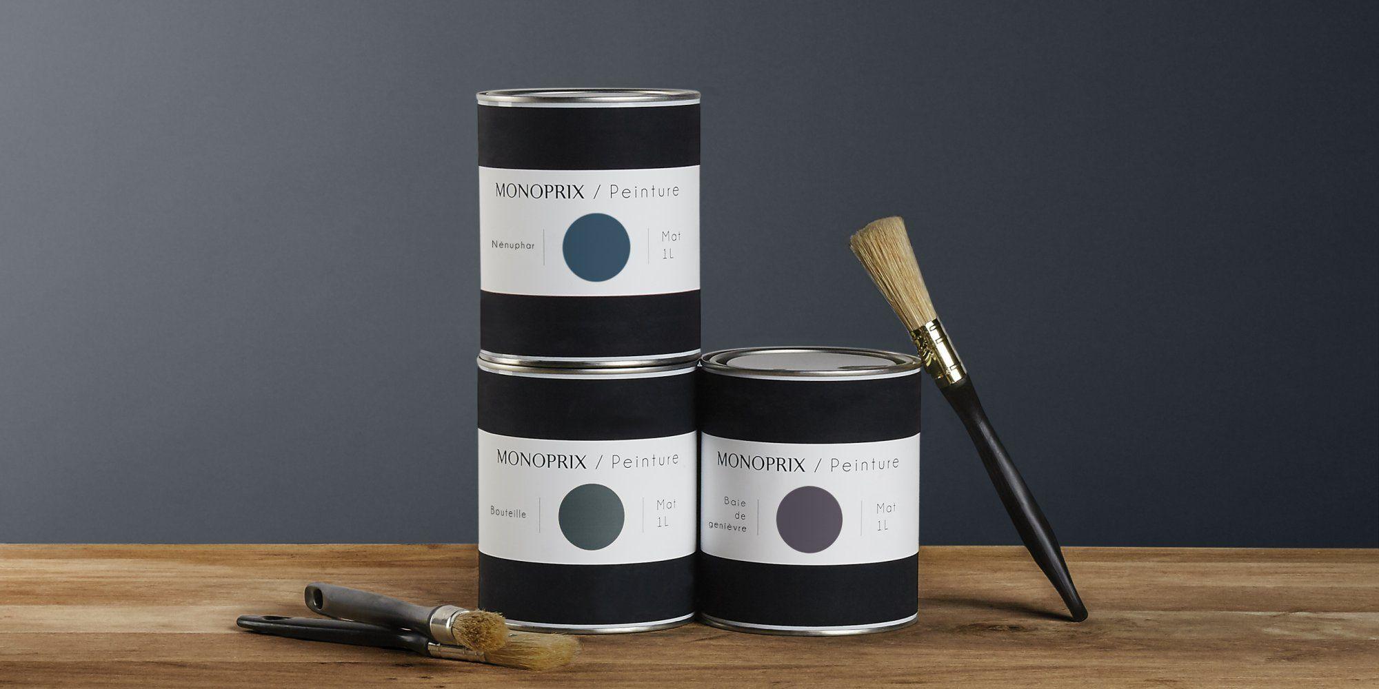 La peinture débarque enfin chez Monoprix ! | Monoprix deco, Pots de peinture et Peinture murale ...