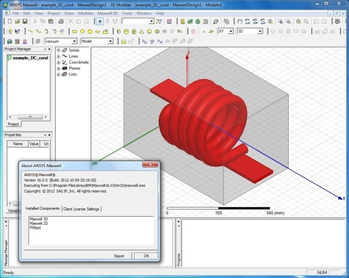 Download ANSYS Maxwell 16.0 x86 x64 full license 100% working in 2020 | Ansys, Me on a map, Maxwell