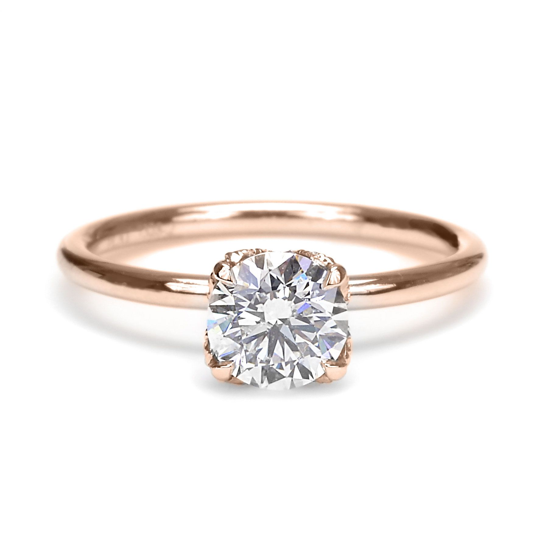 ring settings diamond jewellery three engagement