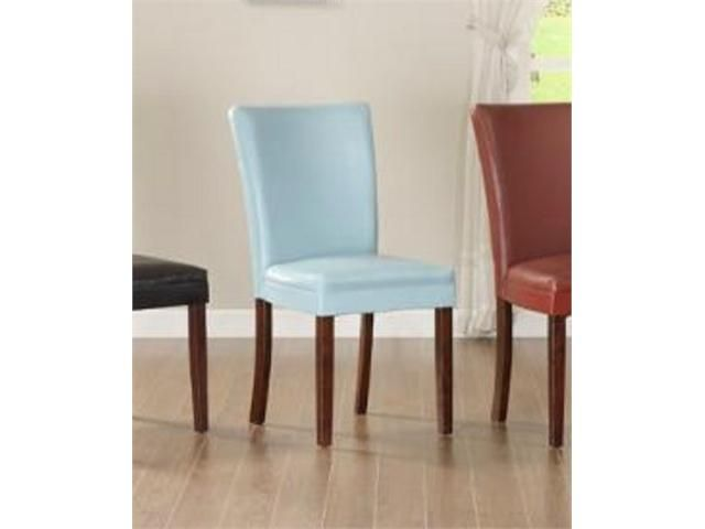 Sky Blue Parson Chairs, Set Of Two HomeHills Parsons Chairs Dining Chairs  Kitchen U0026 Dining