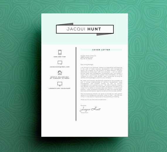 Minimalist Resume Template How To Approach A Cover Letter For Your Dream Design Job