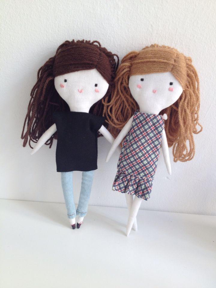 ploudoll muñecas de tela hechas mano  ploudoll | handmade cloth dolls
