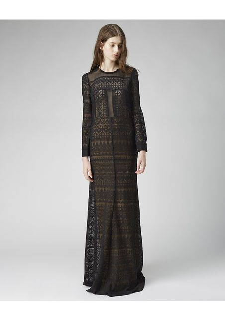 more gorgeous lace, amazing lines on this dress, Isabel Marant