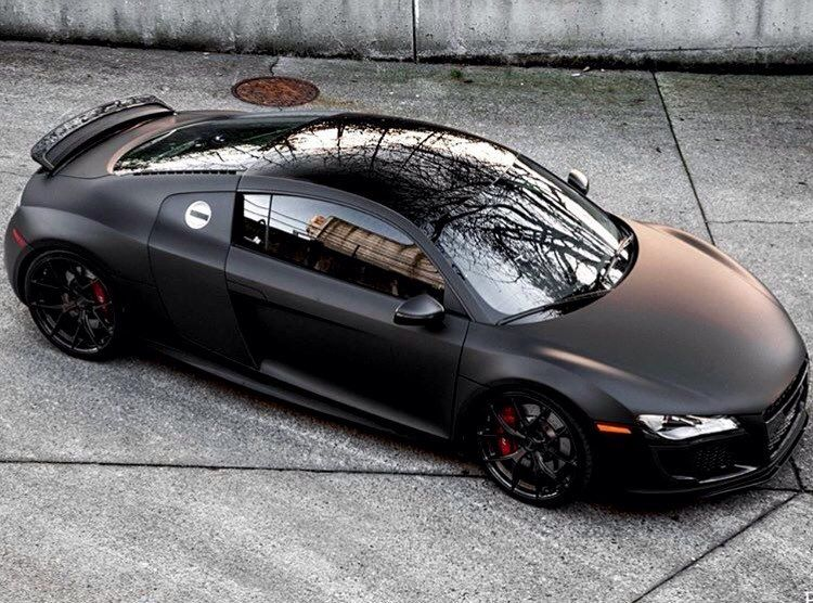 Rate This Amazing Matte Black Audi R8 By Cars Report Audi R8