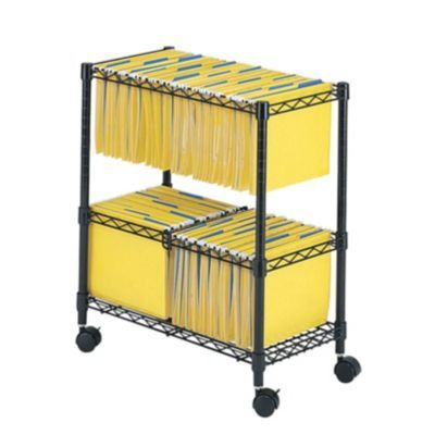 Safco Products 29 75 Two Tier Rolling File Cart Staples File Carts Safco Home Office Furniture