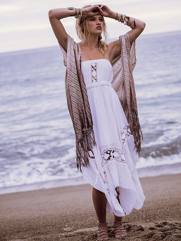 64821c04b8b5 ... Free People One Fine Day. Shimmers in the Sky Maxi. FP One Rio Midi  Dress