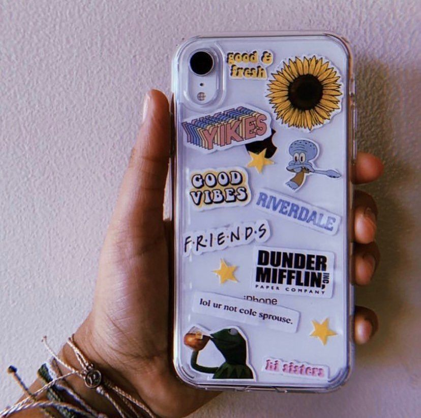 Do You Like The Clear Phone Case Trend Vscogalspam Vsco Besties Aesthetic Vsc Tumblr Phone Case Iphone Phone Cases Apple Phone Case