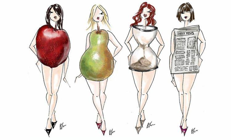 Tipps zum Abnehmen je nach Körpertyp und -struktur