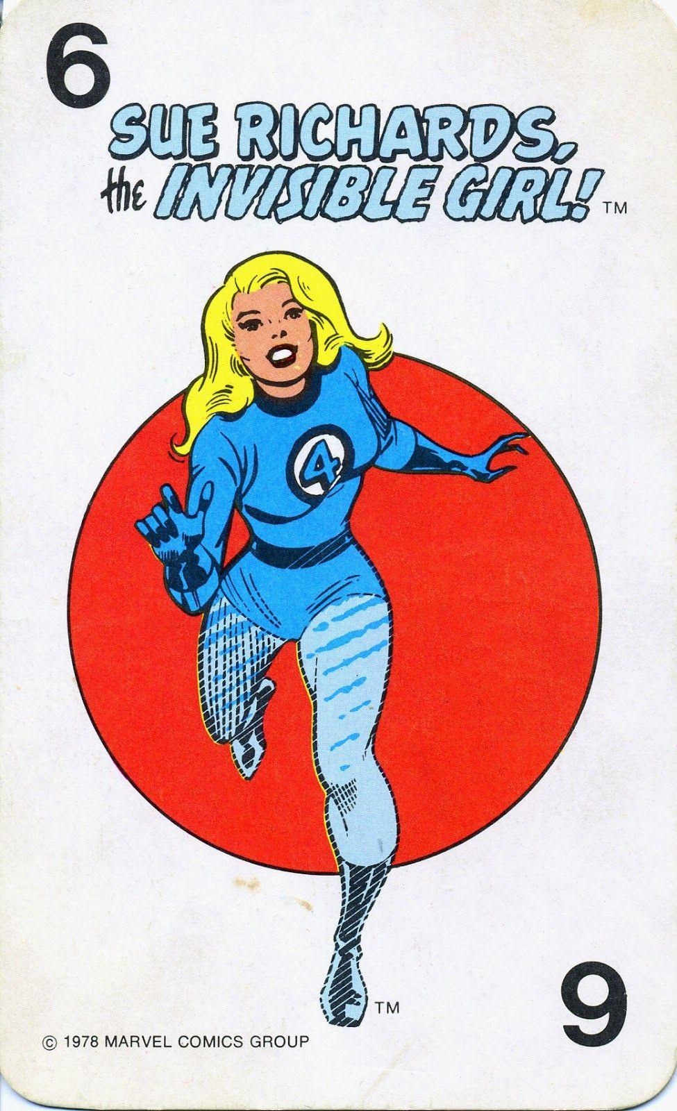 Card Marvel 1978