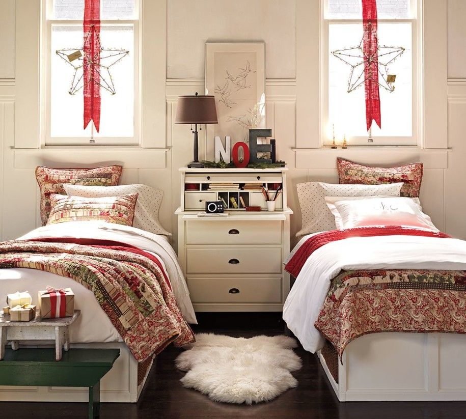 Christmas Bedrooms fun bedroom designs allocated for two kids : kids room with two