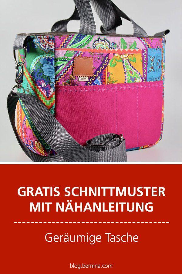 Photo of Gratis-Schnittmuster & Nähanleitung: Geräumige Tasche für Zubehör & Co.