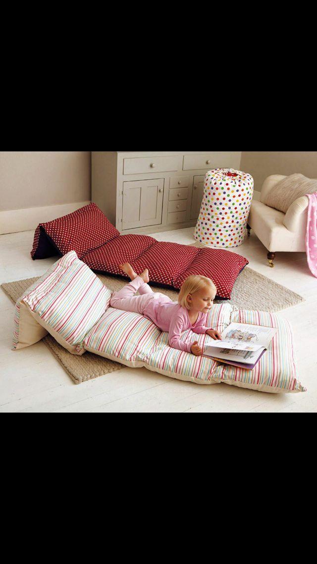 Do it yourself floor pillows!