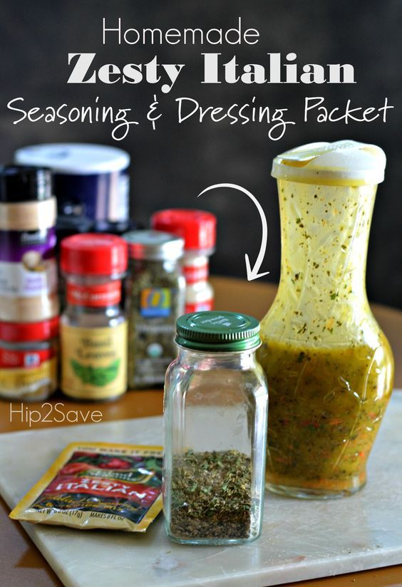 Zesty Italian Dry Seasoning Packets Are Super Versatile In Addition To Using Them To Italian