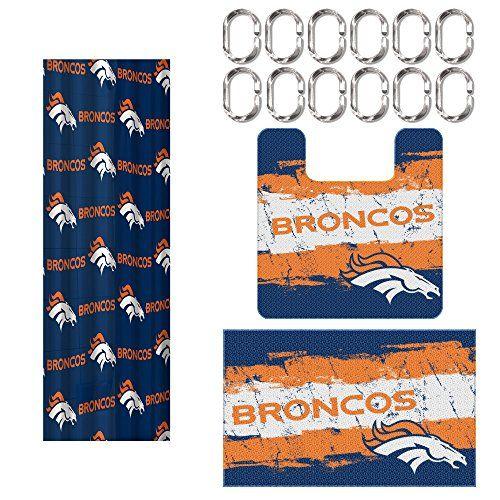 Denver Broncos Bathroom Decor