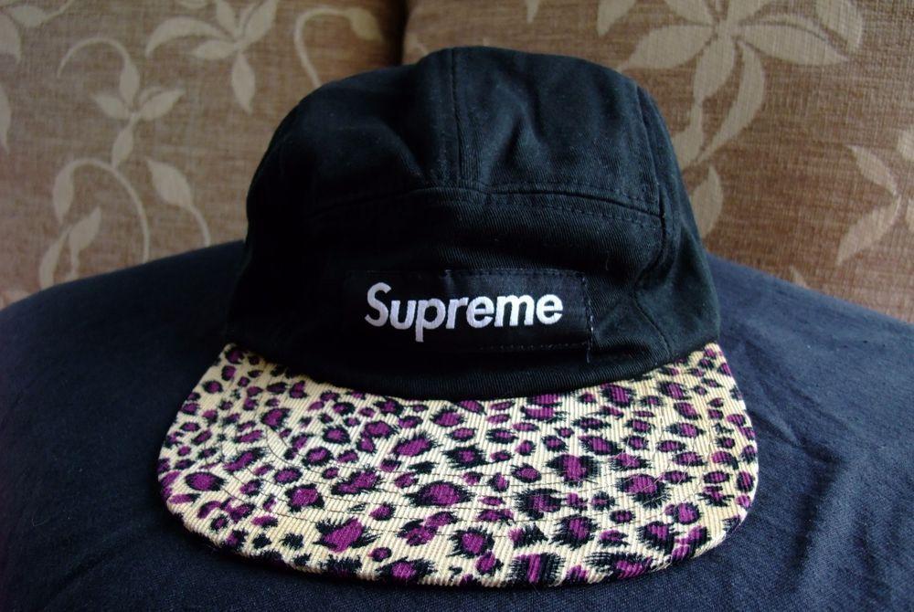 2760c5bd ... wholesale supreme safari leopard cap cap box logo 2011 rare orig  authentic supreme 5panel 00873 f83df