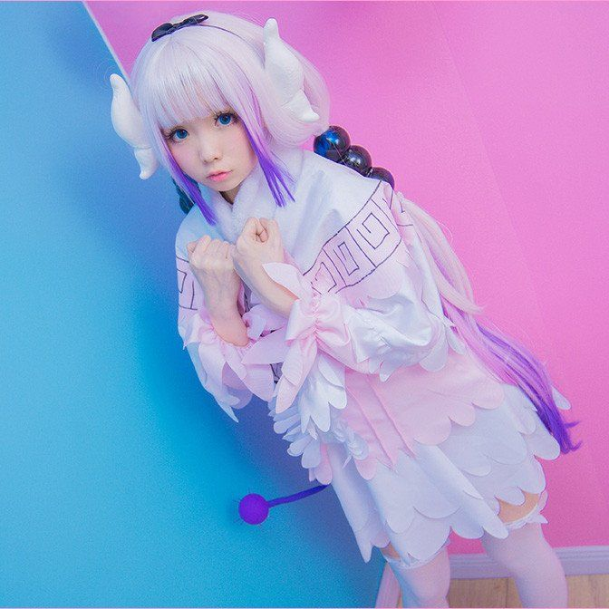 Miss kobayashis dragon maid kanna cosplay