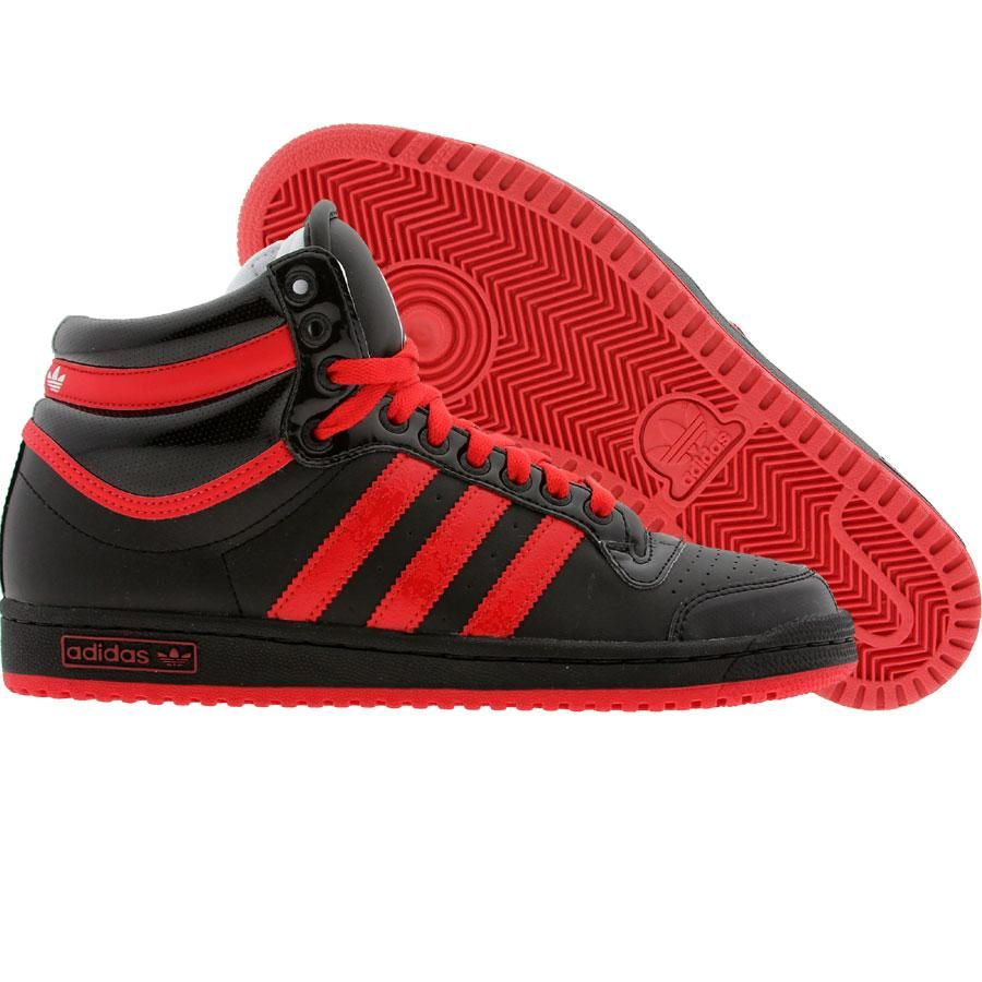 Nike High Tops Black And Red | Black