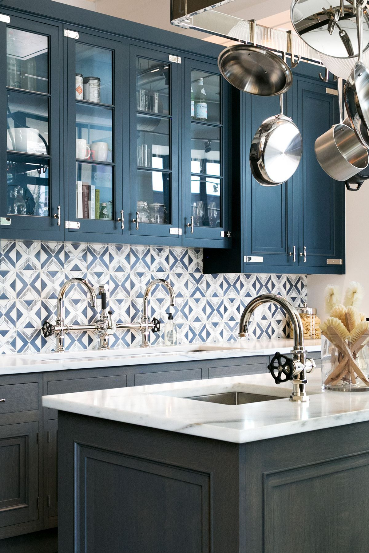 Luxe Kitchen Fixtures + Fittings at Waterworks Los Angeles - Anne ...