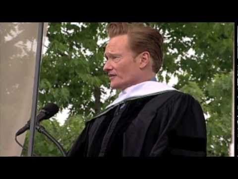 Conan's Dartmouth Commencement Speech.