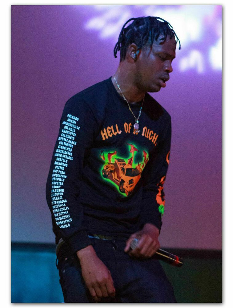 1291D New Travis Scott Hip Hop Music Star Rap Live Print Art