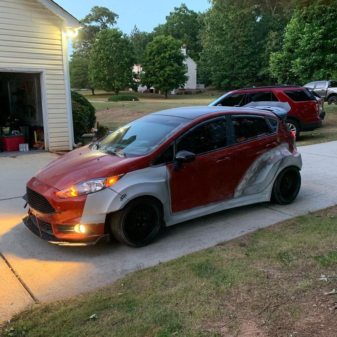 Ford Fiesta Mk7 5dr Wide Body Kit Krotov Pro In 2020 Body Kit Wide Body Wide Body Kits