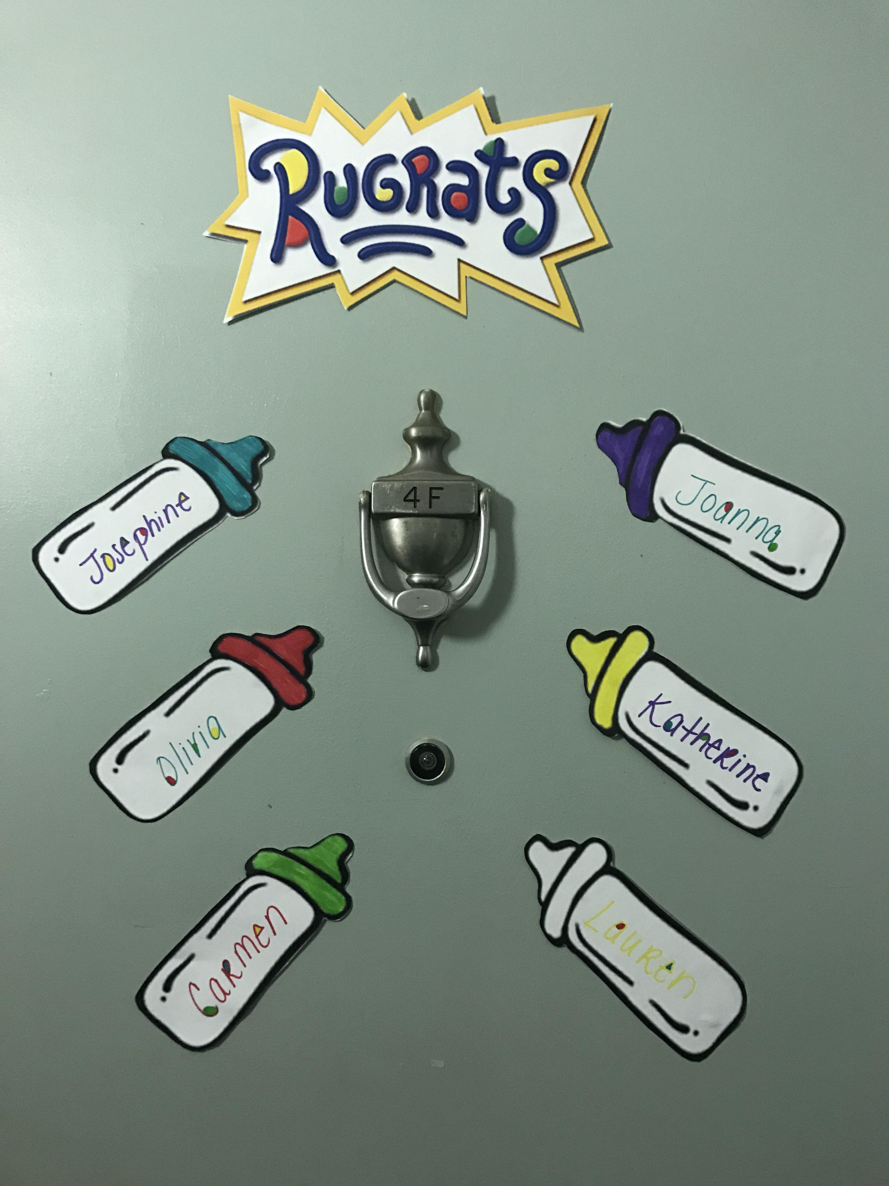 Rugrats Door Decs & Rugrats Door Decs | RA | Pinterest | Door decs Rugrats and Doors Pezcame.Com