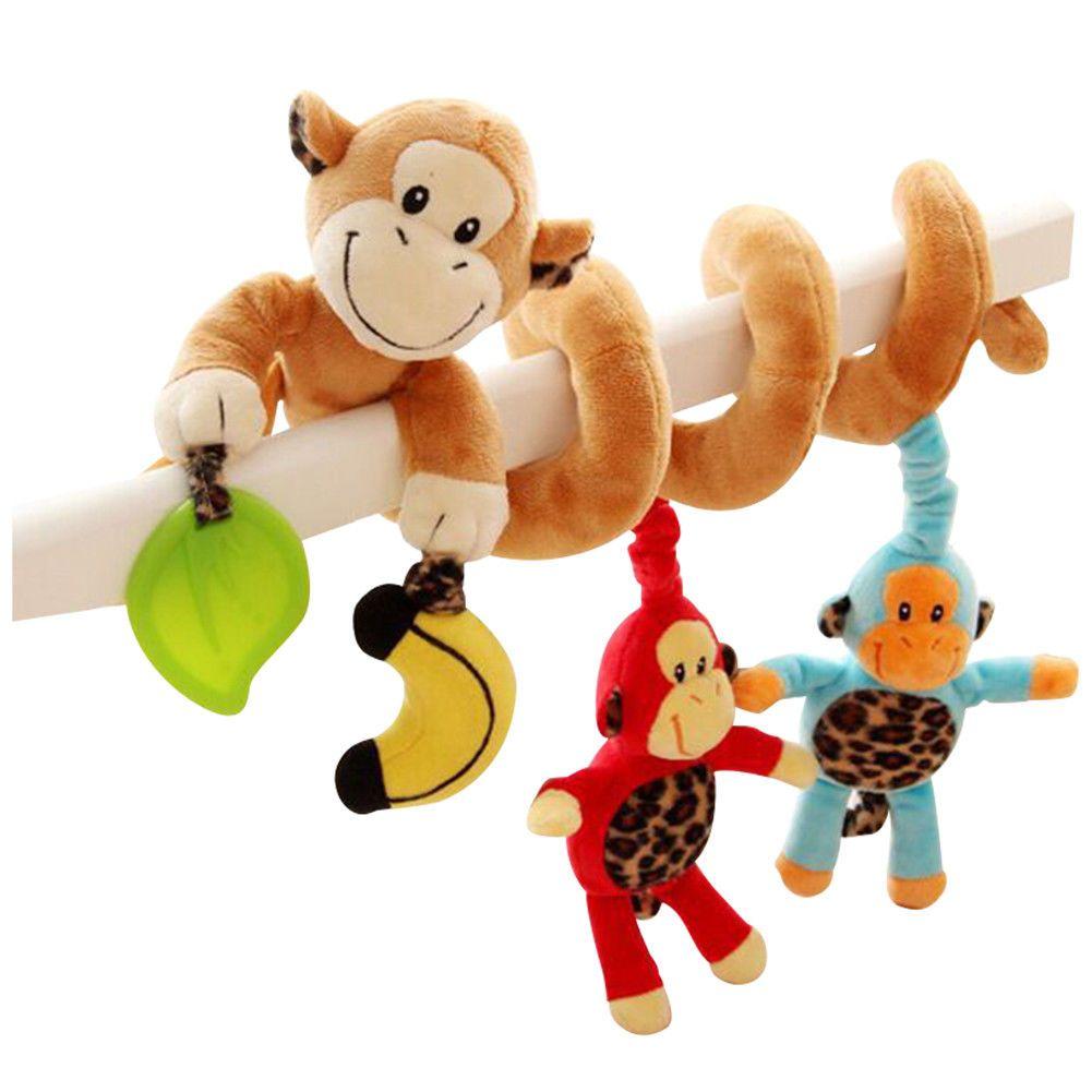 Car hanging toys  Baby Infant Activity Hanging Cot Spiral Stroller Car Seat Pram Bed