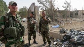 Fuerzas sirias detienen a una suicida en Homs