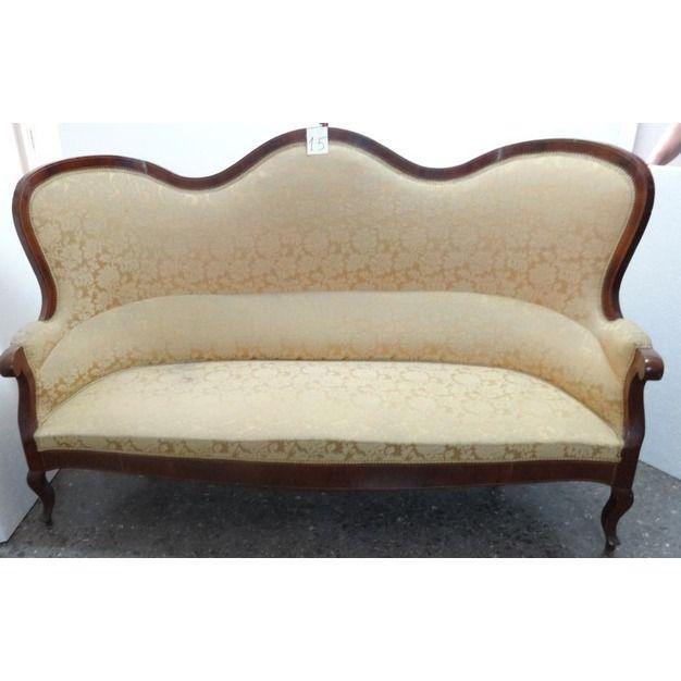 Antiguo sof de estilo isabelino siglo xix 15 colecci n - Muebles estilo antiguo ...
