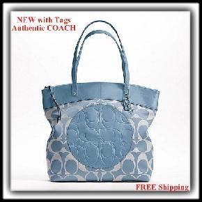 Authentic NEW with Tags COACH Laura Tote ($300 retail) - FREE SHIPPING