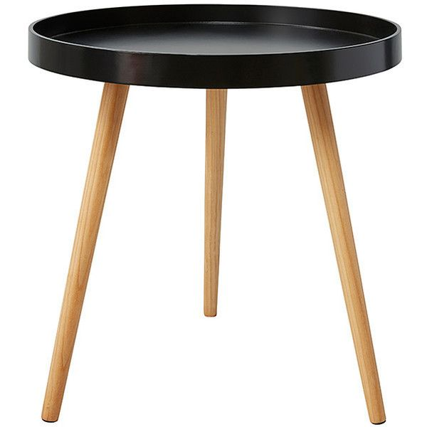 Round Side Table Black Target Australia 19 Liked On Polyvore
