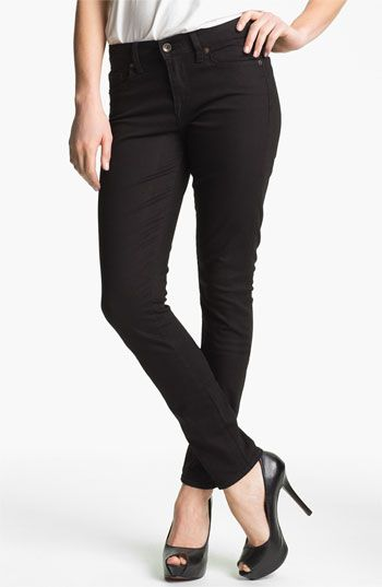 Lucky Brand 'Sofia' Skinny Jeans (Black) (Online Exclusive) available at #Nordstrom