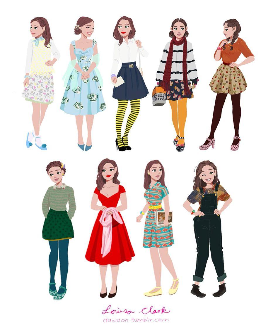 Pin De Winsaid Guanipa Em Crt Roupas De Filme Ilustrações De Moda Garotas