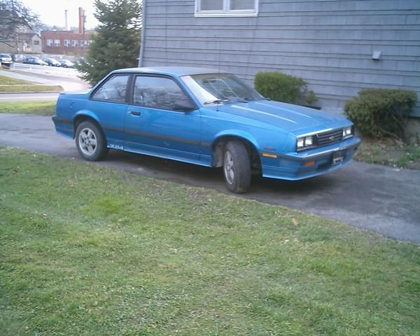 6 1987 Chevrolet Cavalier Z24 Dream Cars First Cars My Ride