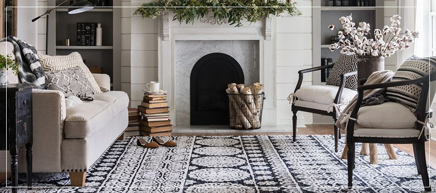 Joanna Gaines Magnolia Home Lotus Rug Collection