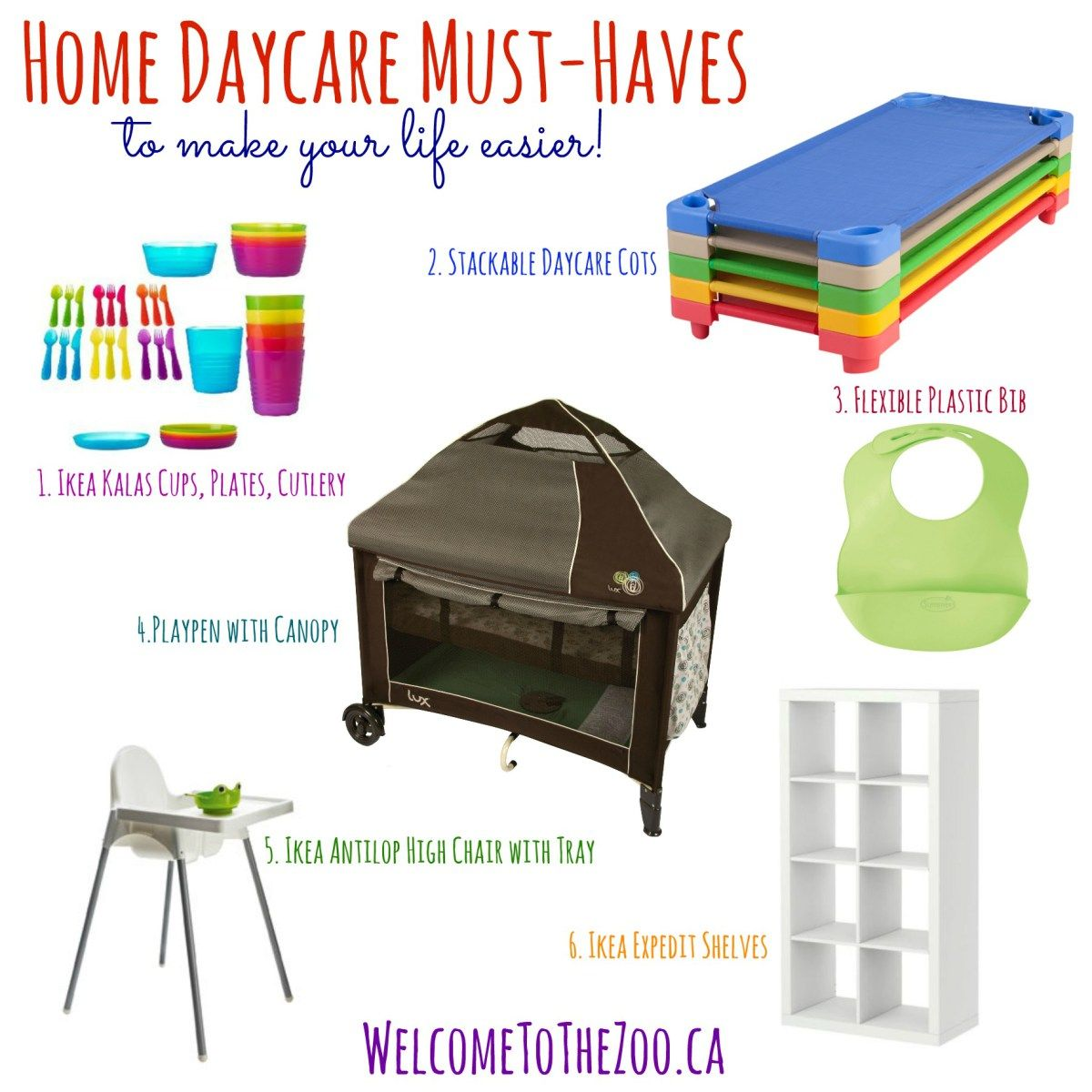 Home Childcare, Home Daycare