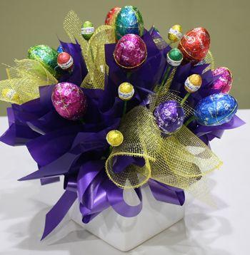 Eggstravaganza easter egg arrangement from hanging basket florist eggstravaganza easter egg arrangement from hanging basket florist rockingham negle Images