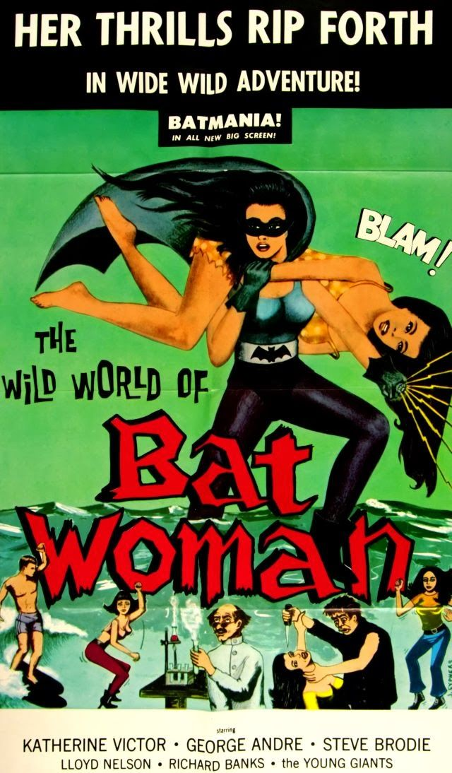 The Wild World of Batwoman (1966) Stars: Katherine Victor, George Mitchell, Steve Brodie ~  Director: Jerry Warren
