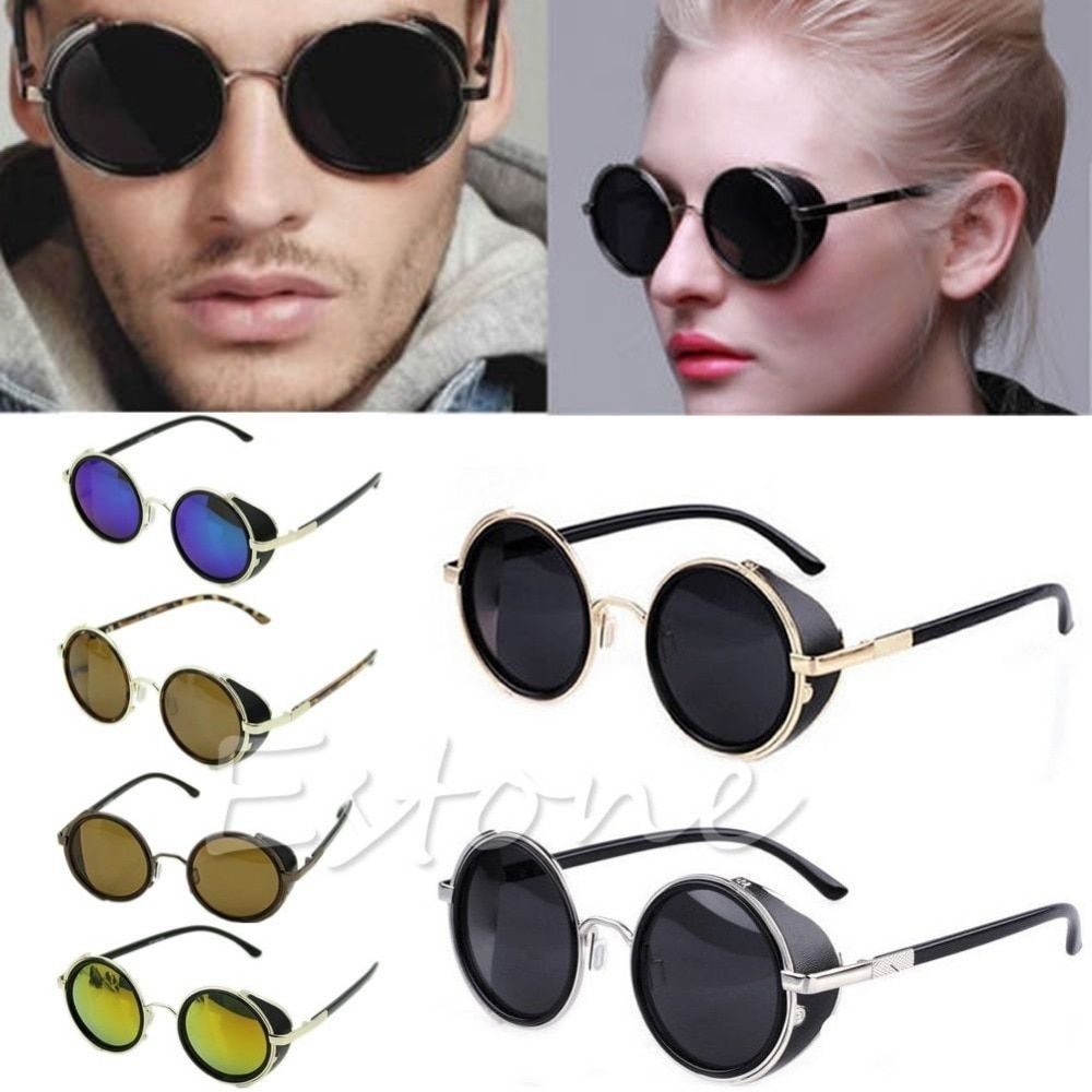 Cyber Goggles Vintage Retro Blinder Steampunk Sunglasses 50s Round Glasses F05 Steampunk Sunglasses Retro Sunglasses Sunglasses